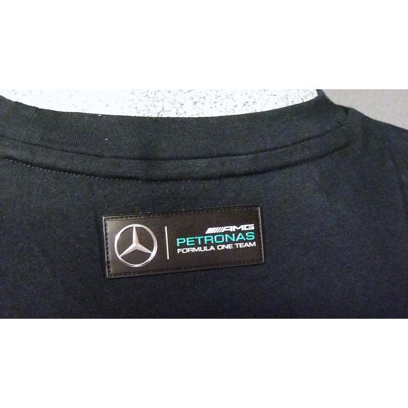 t shirt mercedes amg f1 hamilton drivers tee formulasports. Black Bedroom Furniture Sets. Home Design Ideas