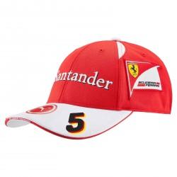 Sebastian Vettel / Ferrari Cap