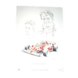 Gilles VILLENEUVE / Ferrari 126 CK