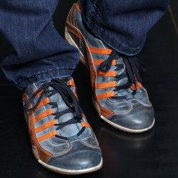 GPO Sneaker bleu Monza Indigo