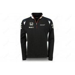 McLaren Honda Official Team 1/4 zip Sweatshirt
