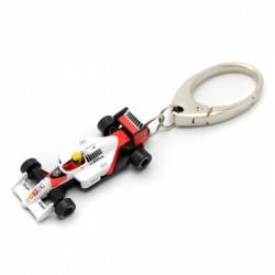 Ayrton Senna / McLAREN MP4/4 keyring