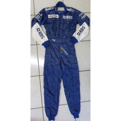 2005 signed Nico Rosberg / Williams GP drivers suit