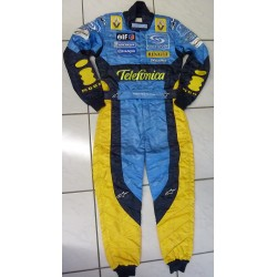 2004 Fernando Alonso /Renault Spanish GP suit