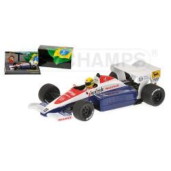 Toleman Hart TG184 Ayrton Senna