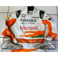 2013 James Rossiter/Force India suit + boots