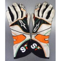 2012 Paul Di Resta / Force India gloves