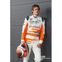 Combinaison originale James Rossiter / Force India 2013