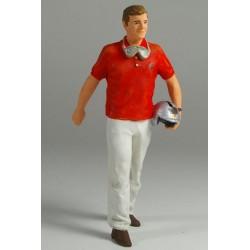 Wolfgang Graf Berghe Von Trips figurine