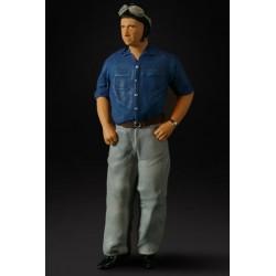 Juan Manuel Fangio figurine