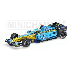 Renault F1 R26 F.Alonso Champion du monde 2006