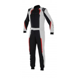 KMX-5 suit silver/black/red