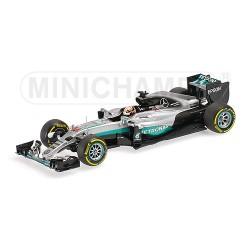 Mercedes AMG W07 Lewis Hamilton Bahrain GP 2016