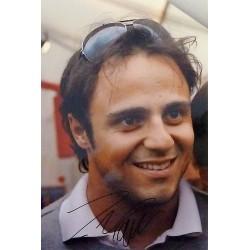 Photo A4 dédicacée Felipe Massa