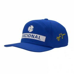 Ayrton Senna Replica Cap NACIONAL