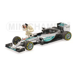 Mercedes F1 W06 L.Hamilton Winner USA GP 2015
