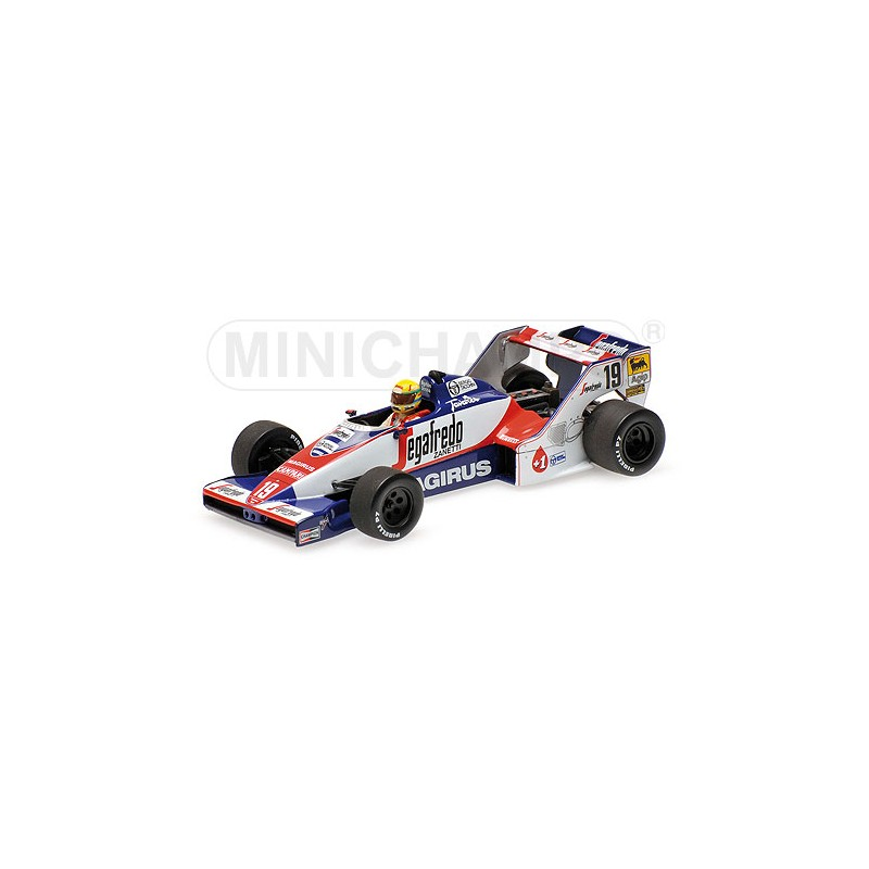 toleman hart tg183b ayrton senna gp du br sil 1984 formulasports. Black Bedroom Furniture Sets. Home Design Ideas