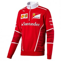 2017 Ferrari Team Half Zip Fleece