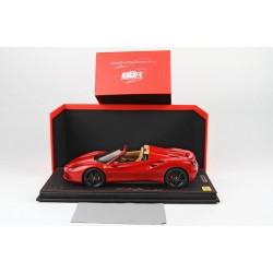 Ferrari 488 Spider rosso corsa