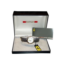 Ferrari/Cartier ladies watch with white dash