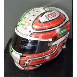 signed 2010 Vitantonio Luizzi/Force India helmet