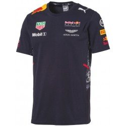 T-Shirt Team Red Bull Racing 2017