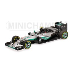 Mercedes AMG F1 W07 Nico Rosberg World Champion 2016