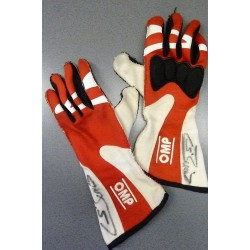 2010 signed Sebastien Buemi / Toro Rosso gloves