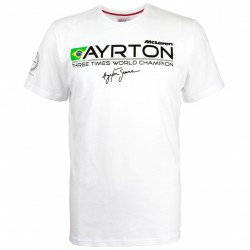 "T-Shirt Ayrton Senna ""World Champion 1988"""