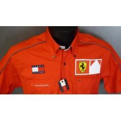 Chemise Ferrari personnelle de Luca Badoer