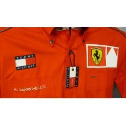 Chemise personnelle Ferrari de Rubens Barrichello