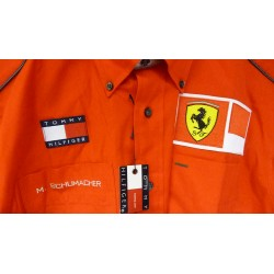 Michael Schumacher personnal Ferrari Team shirt