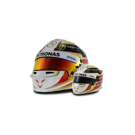 2016 Lewis Hamilton mini helmet 1/2 scale
