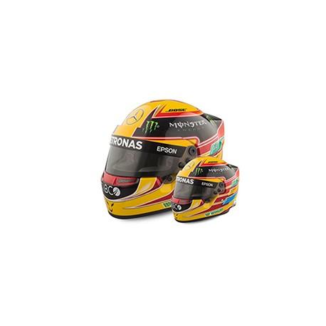 2017 Lewis Hamilton mini helmet 1/2 scale