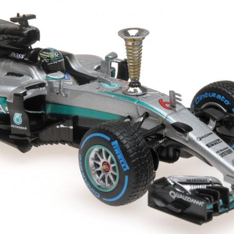 Mercedes AMG W07 Nico Rosberg Sindelfingen Demo Run