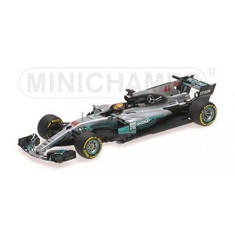 Mercedes AMG W08 Lewis Hamilton Winner Spanish GP 2017