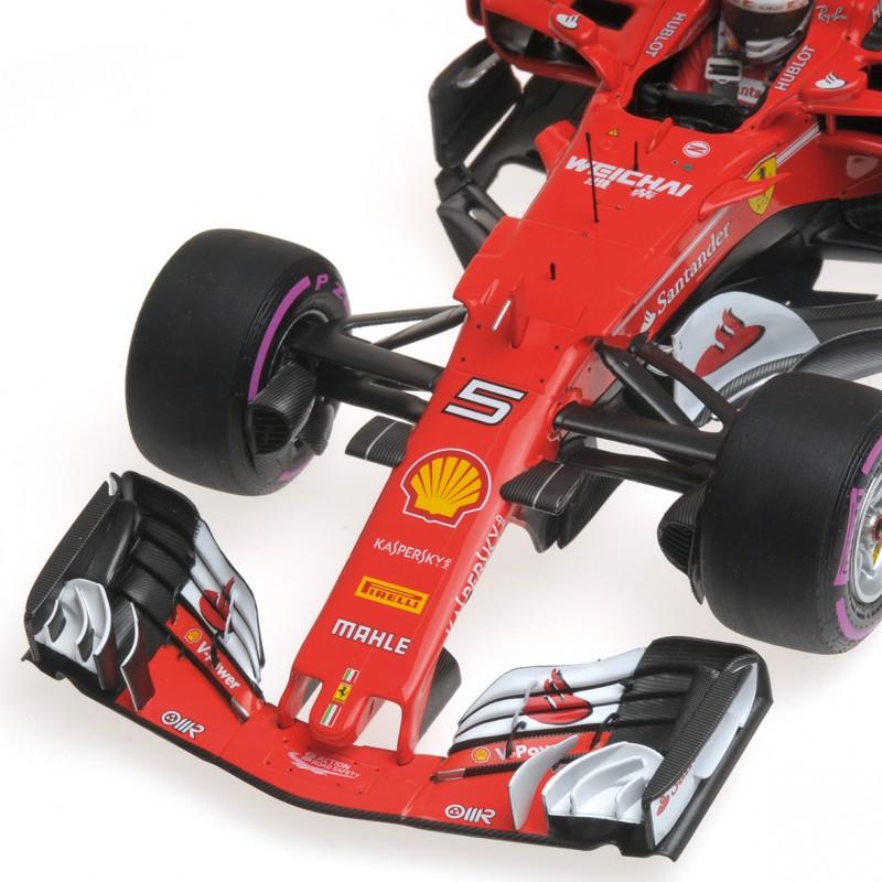 ferrari sf70 h s vettel vainqueur gp d 39 australie 2017 formulasports. Black Bedroom Furniture Sets. Home Design Ideas