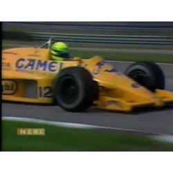 """Réplique de casque Ayrton Senna 1987 """"look utilisé"""""""