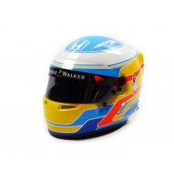 Mini casque 1/2 Fernando Alonso McLaren Honda 2017