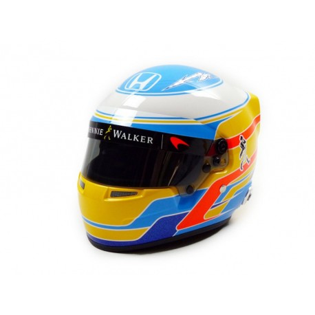 Half scale helmet Fernando Alonso McLaren Honda 2017