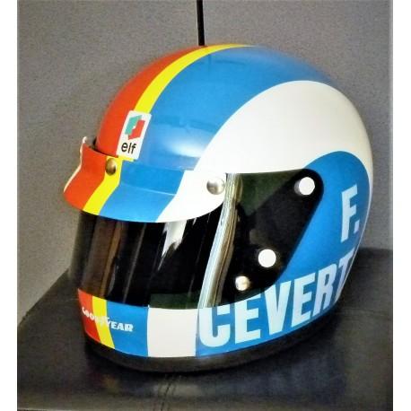 Francois CEVERT / TYRRELL replica helmet