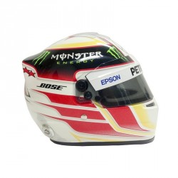Mini casque 1/2 Lewis Hamilton 2015