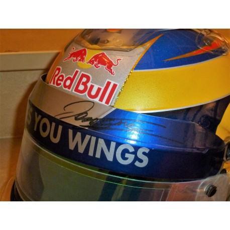 signed 2013 Jean-Eric Vergne /Toro Rosso race helmet