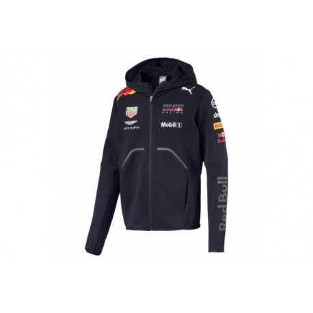 Red Bull Team Hooded Sweat Jacket