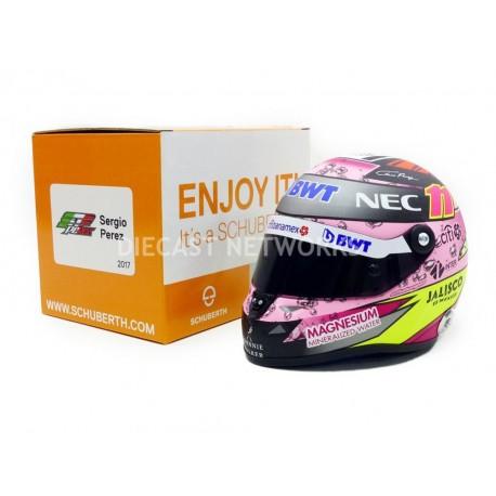 2017 Sergio Perez 1/2 scale mini helmet