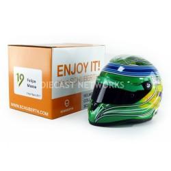 Mini casque 1/2 Felipe Massa dernière course F1