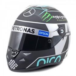 2015 Nico Rosberg 1/2 scale mini helmet