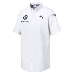 Chemise Team BMW blanche
