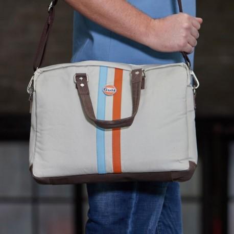 GPO Stripe messenger bag