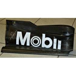 Mika Häkkinen signed McLaren MP4-20A front wing endplate